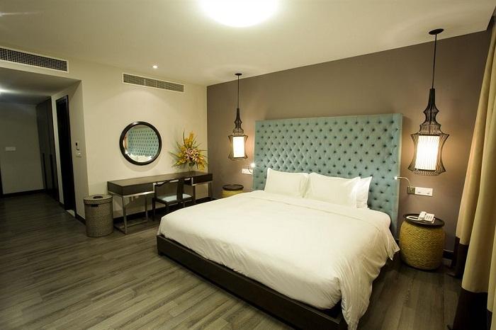 Biệt thự 2 phòng ngủ hướng vườn
