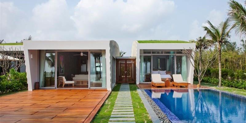 Biệt thự 3 phòng ngủ hướng hồ bơi hoặc vườn