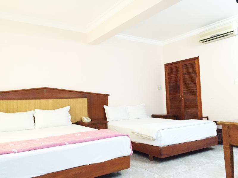 Phòng 2 giường 1m6 và 1m8