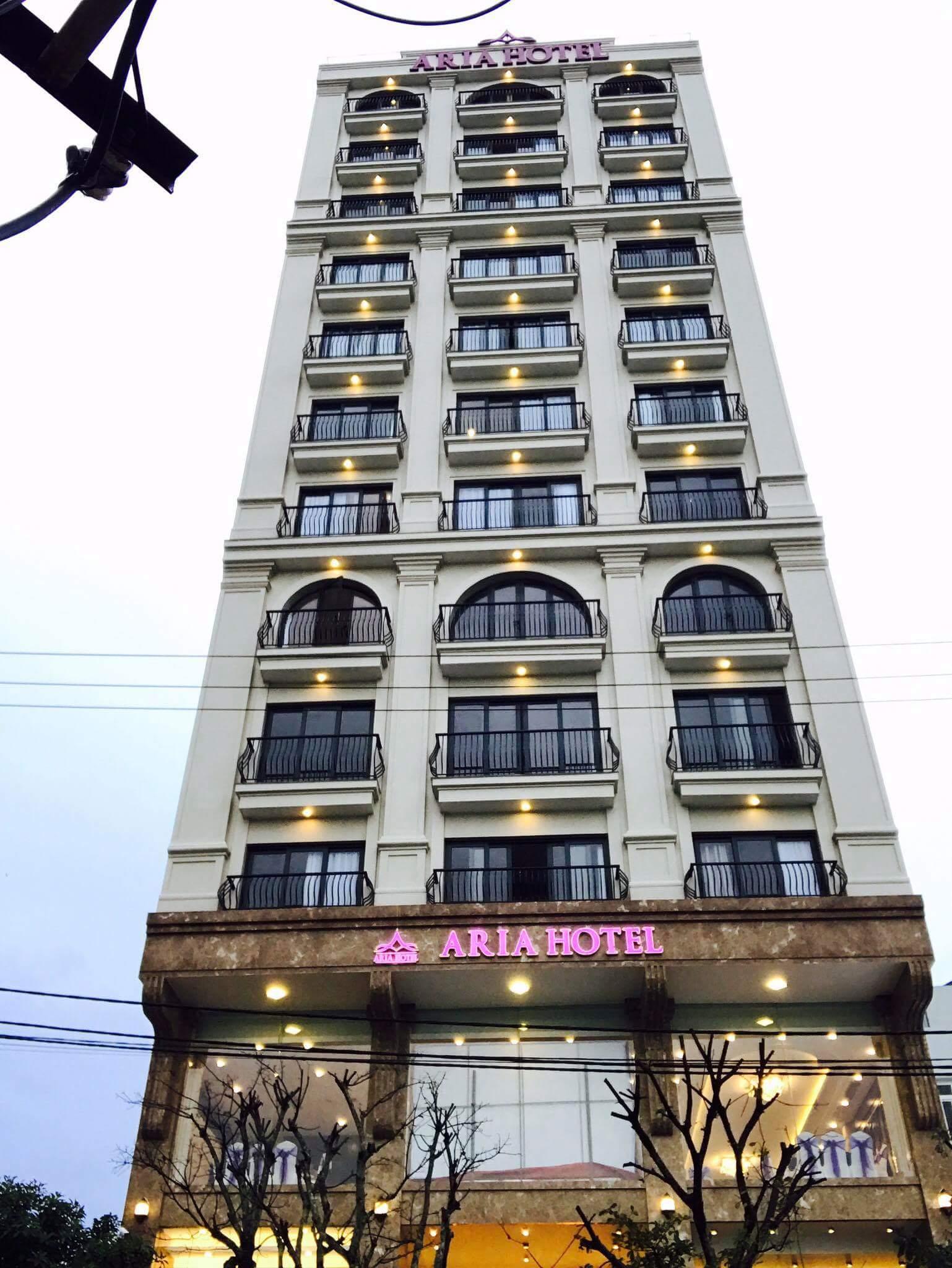 SDT, bảng giá phòng Khách sạn Aria Đà Nẵng